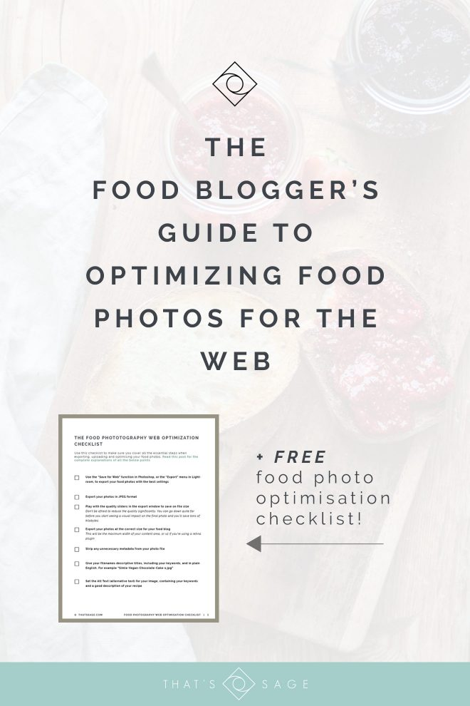 Food Blogger's Guide To Optimizing Food Photos for the Web