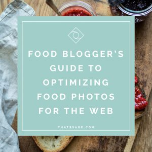 The Food Blogger's Guide to Optimizing Food Photos for the Web