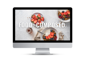 Food Composed, the food styling and composition e-course