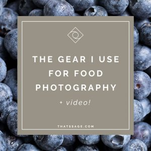 The Gear I use for Food Photography Featured Image