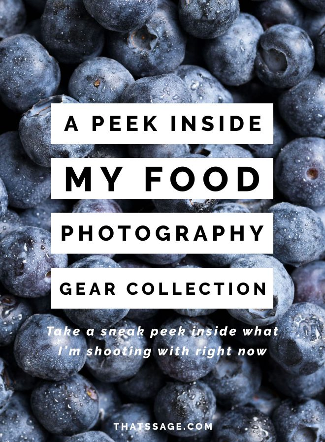 The Gear I use for Food Photography