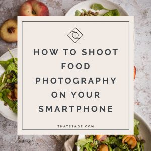 smartphone food photography