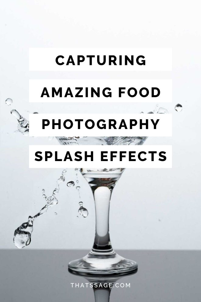"Pinterest Image that reads ""capturing amazing food photography"""