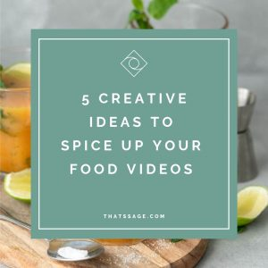 """5 creative ideas to spice up your food videos"", photograph by Lauren Caris Short of Food Photography Academy"